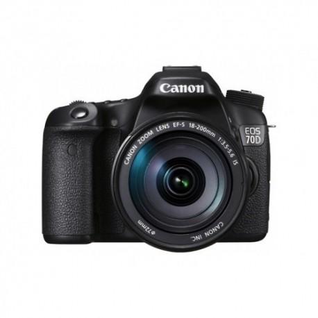 Canon EOS 70D 18-200 Dijital Fotoğraf Makinesi